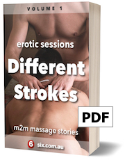 cover image: different strokes - m2m massage stories